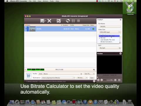 4Media  MP4 Converter  - Convert audio and video files on Mac - Download Video Previews