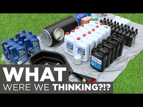 $1100 Dollars in Fluids/Filters! (Buying an RV Without Servi