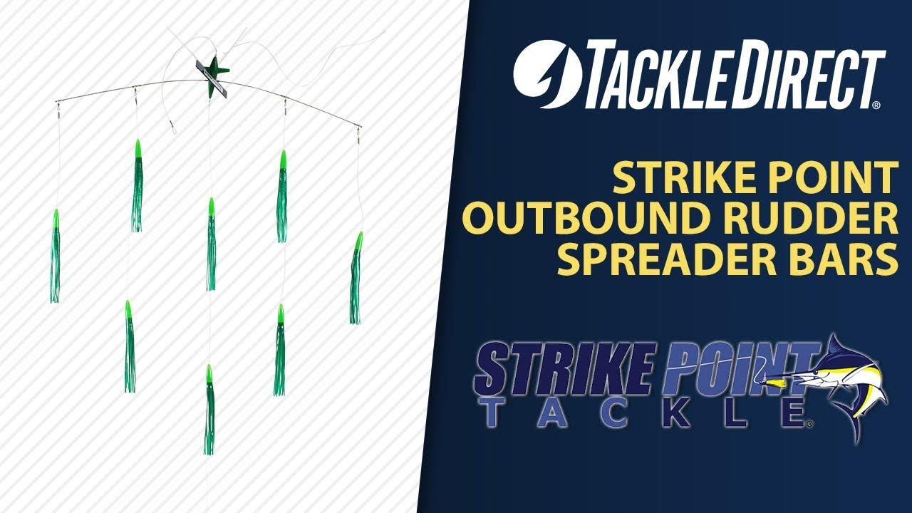 f38d1667859 Strike Point Outbound Rudder Spreader Bars at TackleDirect - YouTube