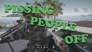 RAINBOW SIX SIEGE RANKED TROLLING: Pissing People Off (Episode 4)