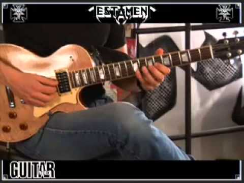 Alex Skolnick How to Play the Solos in Practice What You Preach / More Than Meets The Eye
