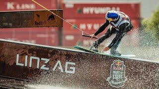 Wakeboarding on a Half-Sunk Cargo Ship | Red Bull Wake Of Steel