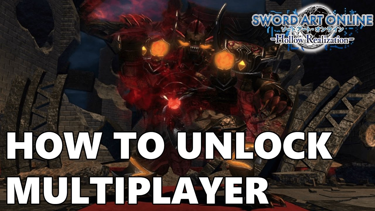 Sword Art Online: Hollow Realization - How To Unlock Multiplayer