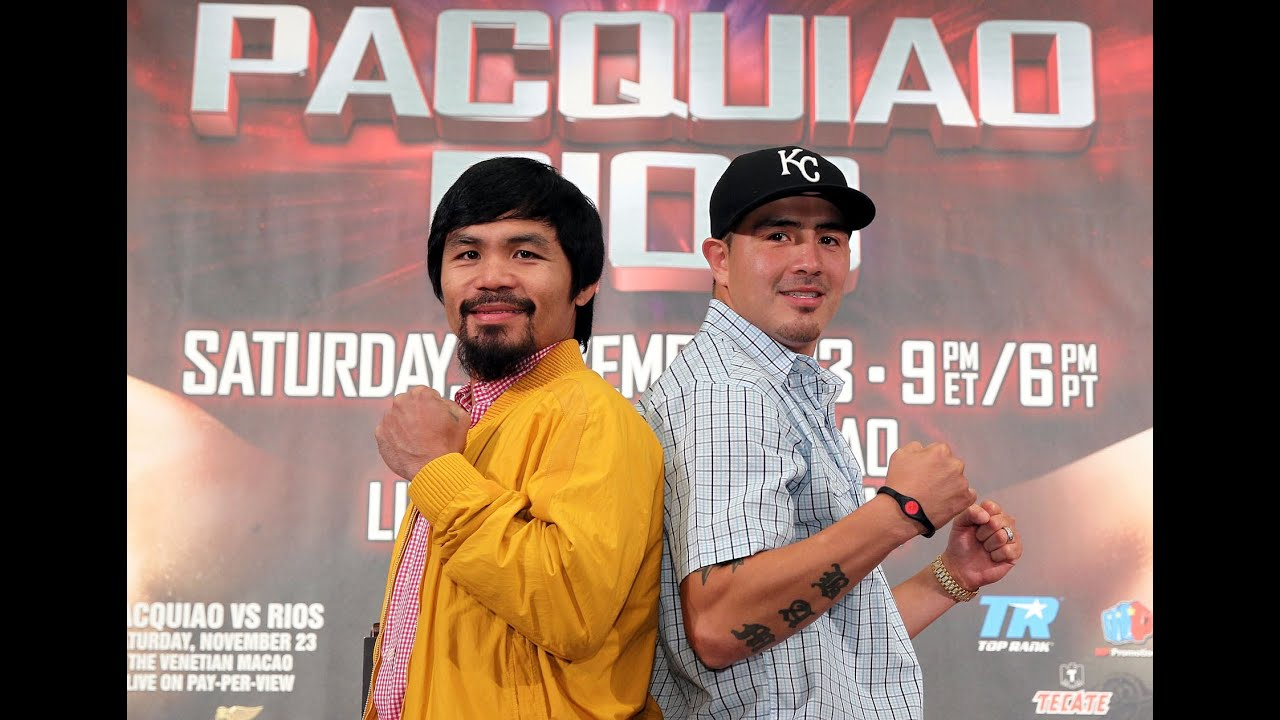 Pacquiao vs. Rios: The Full L.A. Press Conference