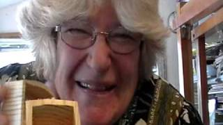 Nancy Today: Show & Tell Bandsaw Box Asmr