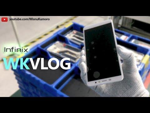 Ke Pabrik Smartphone INFINIX Indonesia 2018! INFINIX Factory Visit! #WKVlog.