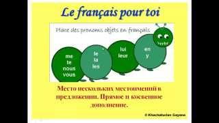Уроки французского #66: Место нескольких местоимений в предложении. Прямое и косвенное дополнение