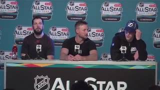 2018-19 NHL ALL-STAR GAME REACTION: Lightning's Kucherov, Stamkos, Vasilevskiy & Cooper