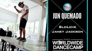 JUN QUEMADO || Janet Jackson – SloLove || Worldwide Dance Camp 2015 || Russia