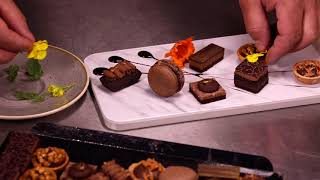 Chocolate Petits Fours sharing platter