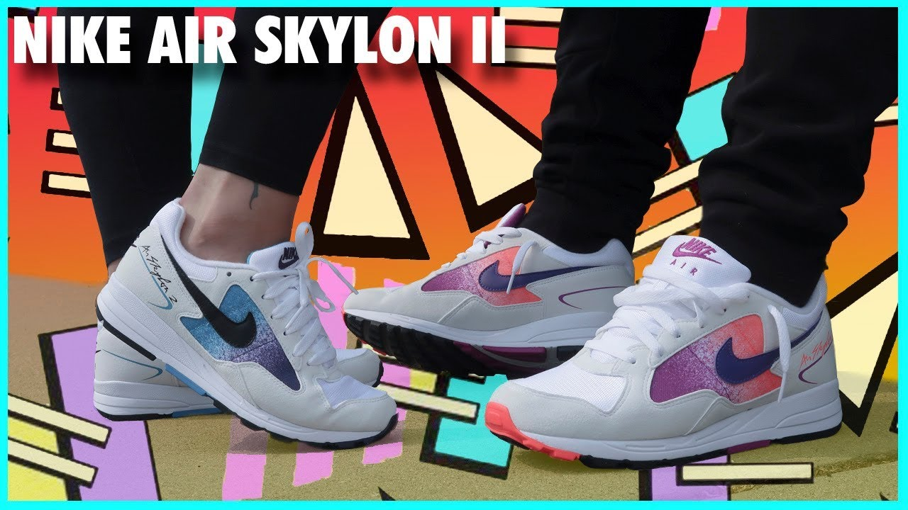 separation shoes 47fd3 02a16 NIKE AIR SKYLON II (2) REVIEW