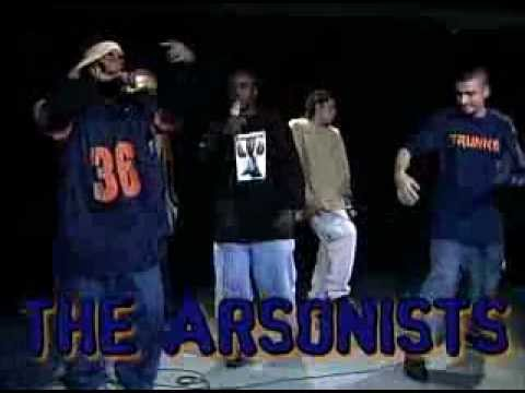Arsonists @ Fat Beats. Rare footage. A must see for all hip hop fans