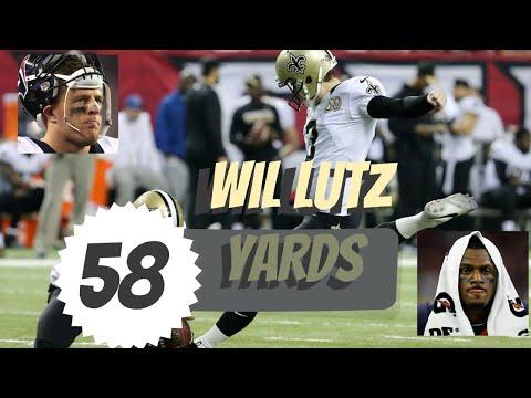 ⛑  Can-t-Miss-Play ⛑ Will Lutz Game-Winning 58 Yard Field Goal  - Texans @ Saints | NFL 🏈😱