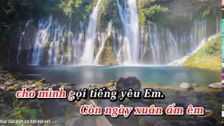 karaoke lk hát cho người tình 1 mời nữ ft