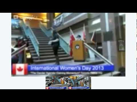 6th Annual International Women's Day Ceremony at Toronto Police HQ