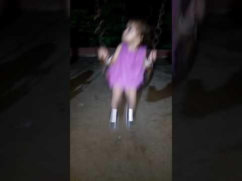 Pari's first swing