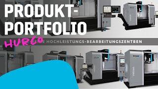 HURCO Produktportfolio
