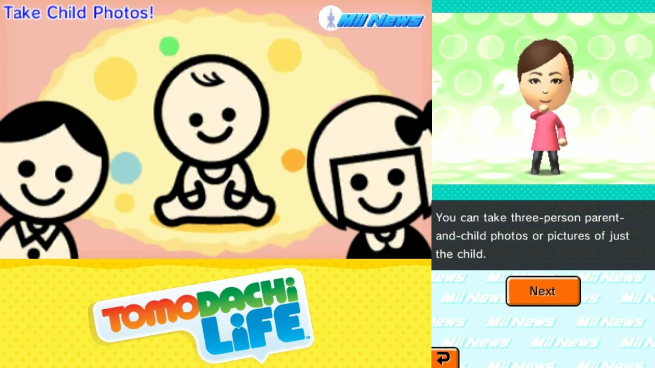 Tomodachi Life A Baby Has Been Born Youtube
