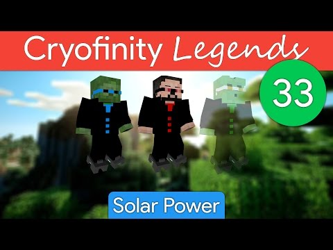 Cryofinity Legends EP33: Solar Power