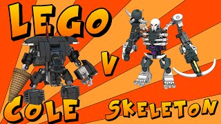 LEGO: Ninjago Cole vs Skeleton MECH BATTLE
