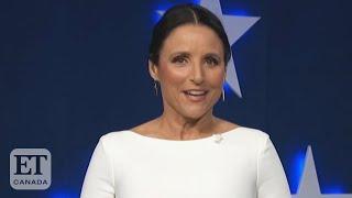 Julia Louis-Dreyfus' Best Trump Jokes At DNC