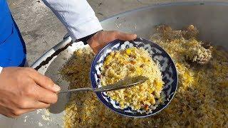 Плов с дымком на свинцовом кольце / Рецепт плова на 8 кг риса