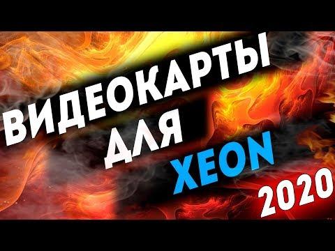 Какую видеокарту выбрать для Intel XEON в 2020 Оптимальные связки ВИДЕОКАРТ и ЗЕОНОВ 2020