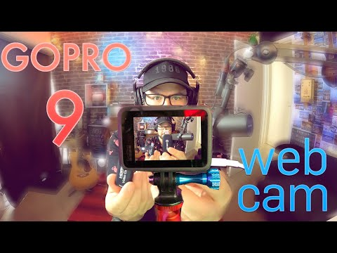 GoPro Hero 9 as a webcam! IT WORKS!!