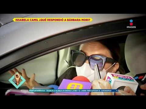 ¿Qué opina Issabela Camil  de las declaraciones de Bárbara Mori sobre Mayer? | De Primera Mano