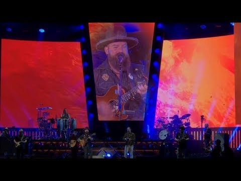 Zac Brown Band - Knee deep mash up (Live 5-12-17)