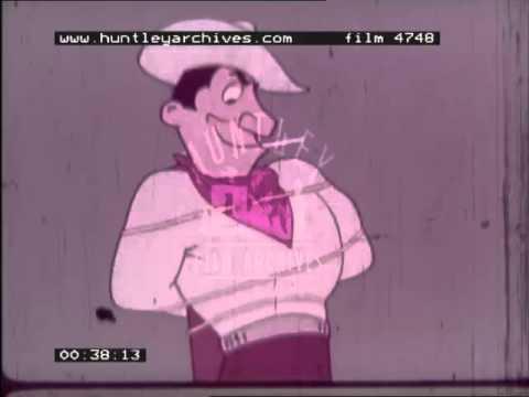 Consulate Cigarette Advert, 1960's - Film 4748