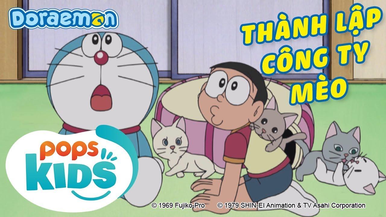 [S6] Doraemon Tập 267 – Ngôi Nhà Thể Thao Bắt Buộc, Thành Lập Công Ty Mèo – Hoạt Hình Tiếng Việt