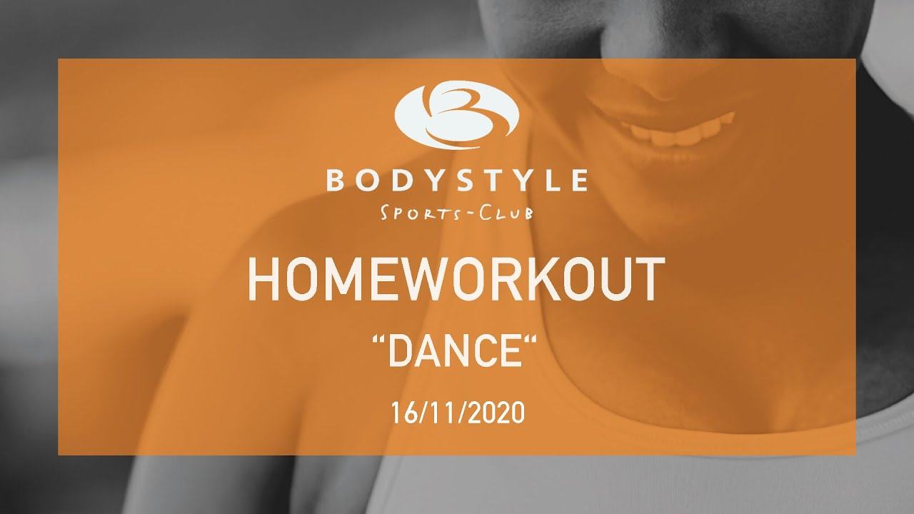 DANCE Homeworkout Video 16.11.20