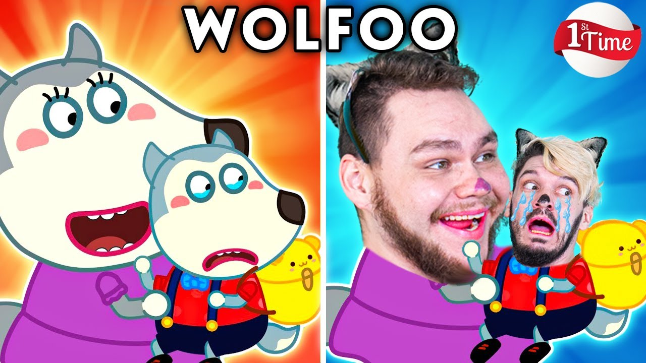 WOLFOO'S FIRST TIME AT SCHOOL - WOLFOO FAMILY FUNNY CARTOON PARODIES | WOLFOO WITH ZERO BUDGET