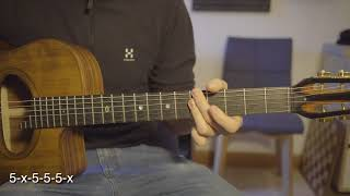 On the sunny side of the street - chord lesson with tab - gypsy style