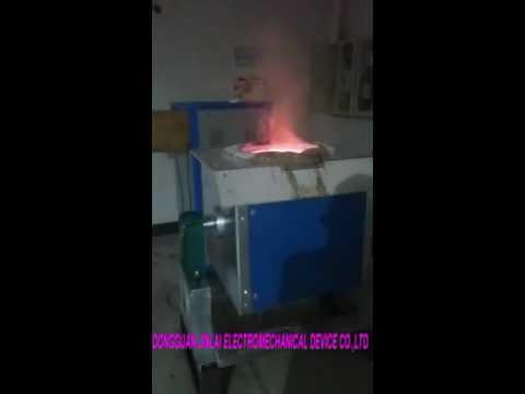 100KG Tin Smelting Furnace Electric Furnace For Refine