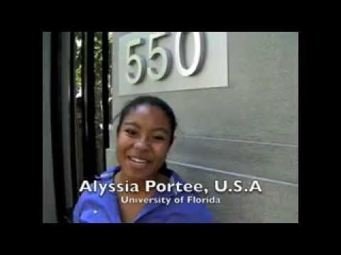 Public Relations internship in China - Alyssia Portee, United States, University of Florida