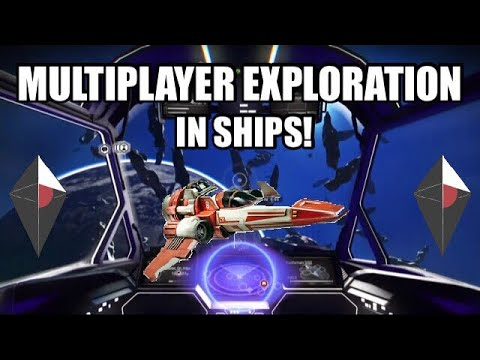 No Mans Sky Multiplayer Exploration In Ships!!!!!!!!