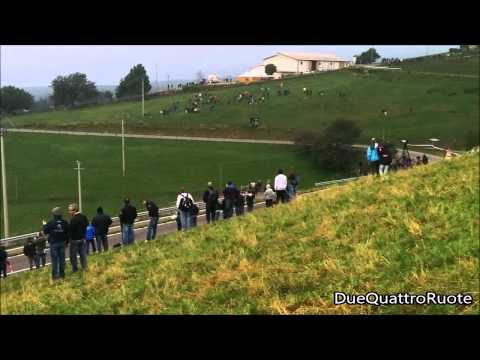 Umberto Scandola Su Skoda Fabia S2000 Al Rally Due Valli 2014 A Erbezzo
