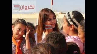 miss kairouan ملكة جمال تونس في حي المنشية بالقيروان لصيانة مدرسة حي النور