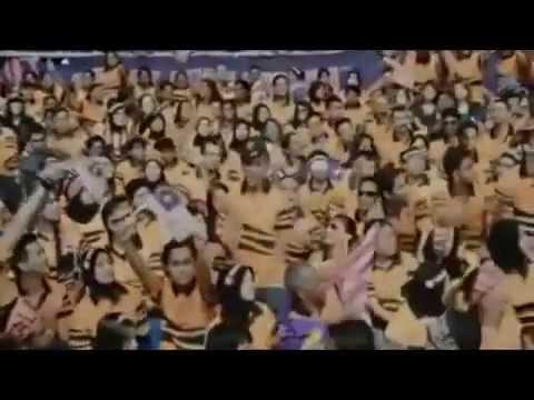 gemuruh suara dan pasukan bola sepak malaysia
