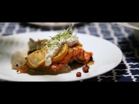 Cooking Salmon, Brussels sprouts and cauliflower puree | Tant qu'à bouffer | Épisode 2