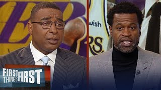 Lakers need to cater to LeBron, give him more control - Stephen Jackson   NBA   FIRST THINGS FIRST