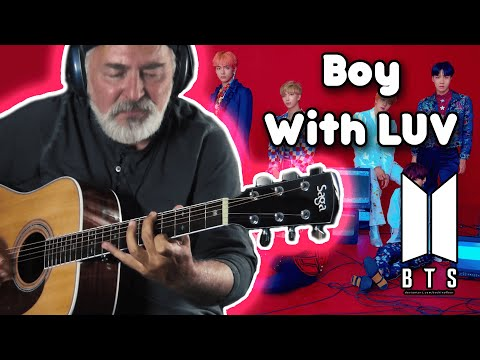 BTS – Boy With Luv feat. Halsey – fingerstyle guitar cover