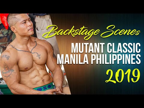 Mutant Classic Bodybuilding Championship 2019, Manila, Philippines: Backstage Scenes