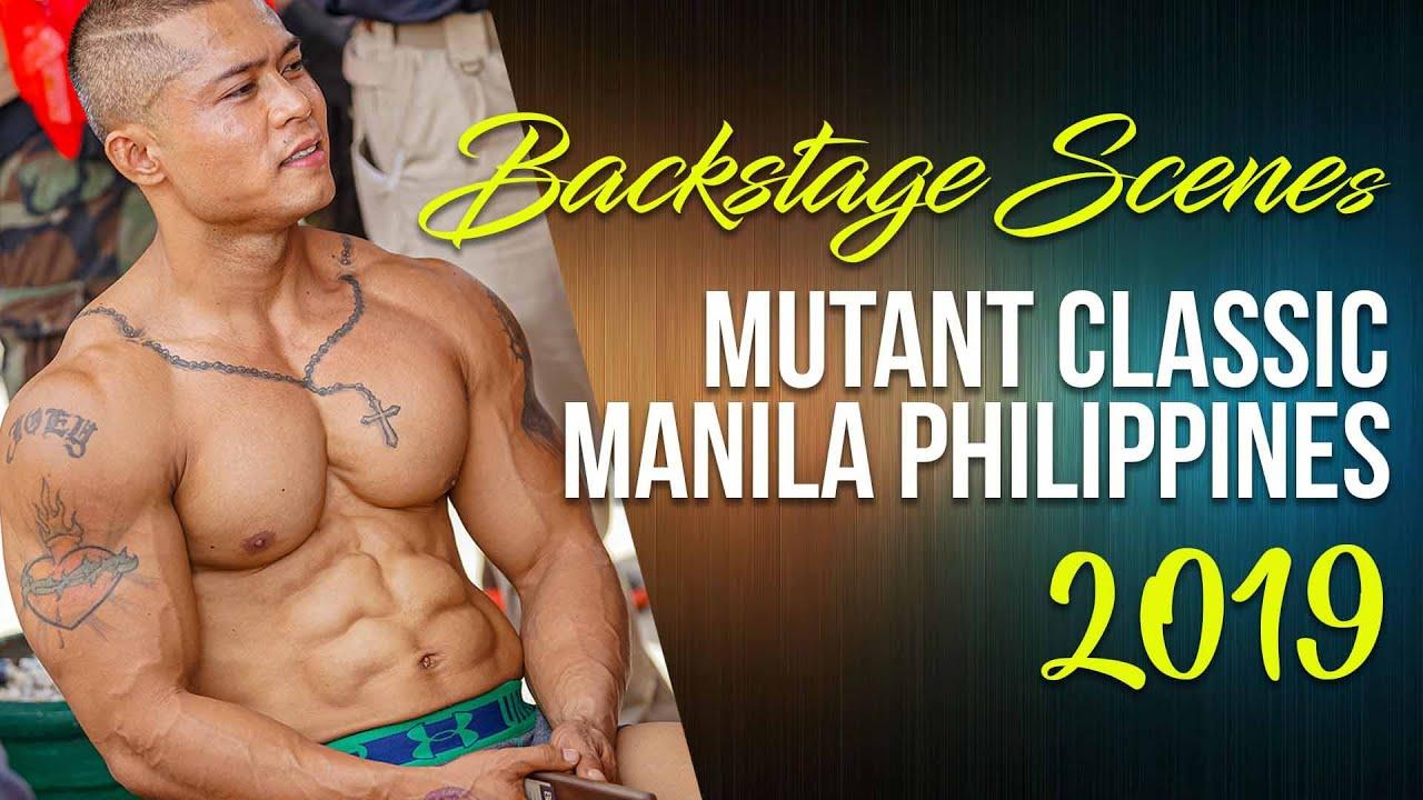 Mutant Classic Bodybuilding Championship 2019 Manila Philippines: Backstage Scenes - YouTube
