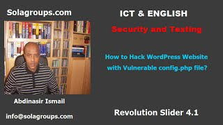 How to Hack WordPress Website with Vulnerable config.php?