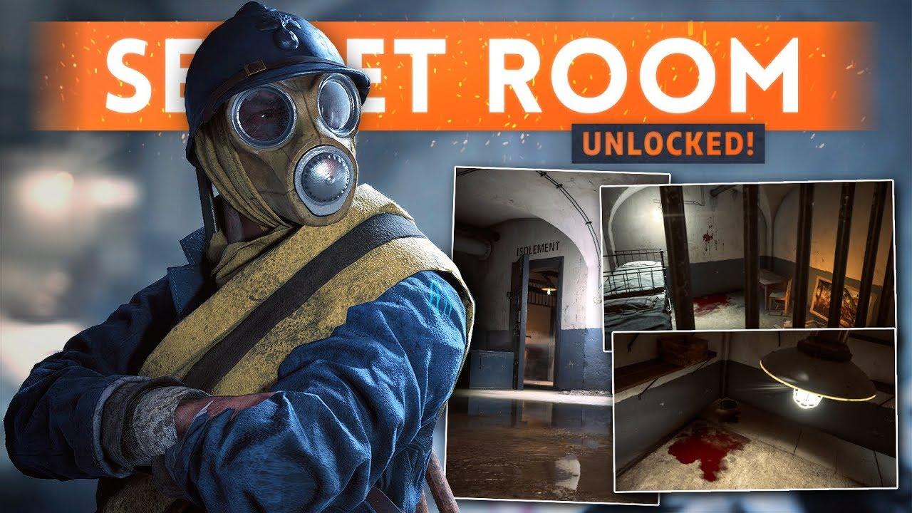 """FORT DE VAUX """"ISOLEMENT"""" ROOM Unlocked! How To Open The Door - Battlefield 1 Easter Egg Hunt"""