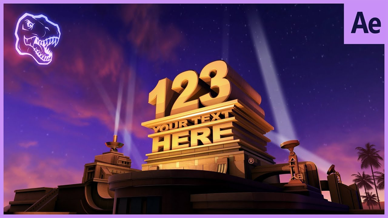 custom 20th century fox intro after effects template free download
