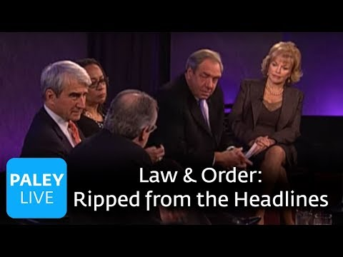 Law and Order: 20 Years - Ripped from the Headlines (Paley Center Interview)